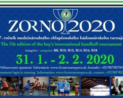 Starší žáci ZORNO Cup 2020 31.1.-2.2.2020